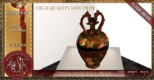 ALESTA << Mesh Troia Vase Decor Full Perm