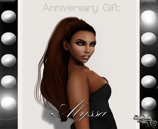 .:{Rumina}:. Alyssa Mesh Hair - Anniversary Edition