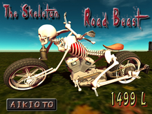 [AIKIOTO] The Skeleton - Road Beast (BOX)