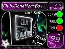 Donation Box 2 >> Donation Box T.O.P. <<