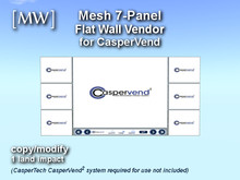 [MW] Mesh 7-Panel Vendor for CasperVend