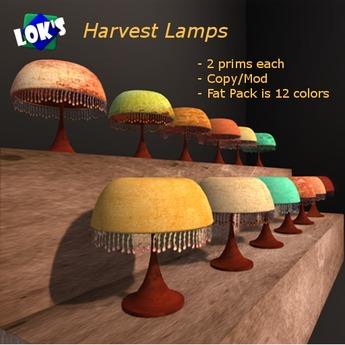Lok's Harvest Lamps FatPack