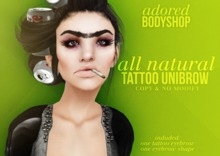 #adored - all natural unibrow