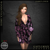 :KR: Woodstock Dress - Darkflower