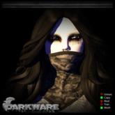 {DarkWare} Nightmare Mask Camo Grey
