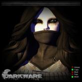 {DarkWare} Nightmare Mask Goth Black