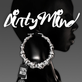 ::DirtyMind:: Bamboo Earrings (Silver)
