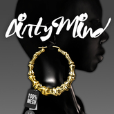 ::DirtyMind:: Bamboo Earrings (Gold)