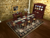 Dinner Party Dining Set for 8: Mahogany Country French BOXED