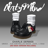 ::DirtyMind:: Black Charlie Derbies