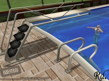 *Dive Board and Ladder Pool+Dive animation