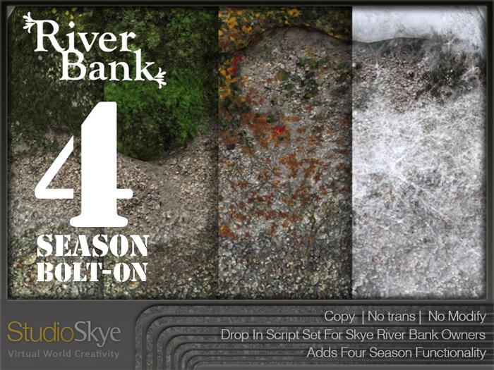 River Bank 4 SEASON Bolt-On Set (Script Only)