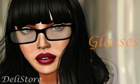 !::DeliStore::! - Delicia Glasses/PROMO L$5