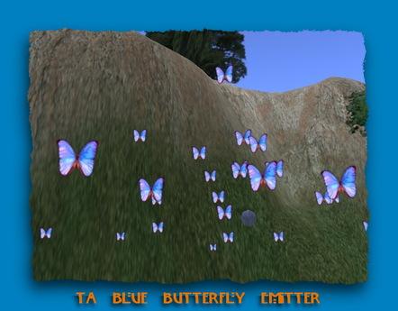 TA Blue Butterfly Emitter