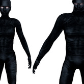 Unisex Combat Undersuit with Balaclava (Dark Gray)