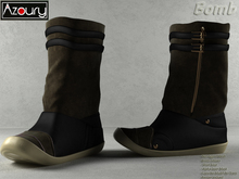 AZOURY - Boots Bomb (Khaki)