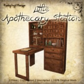[DDD] Little Apothecary Station