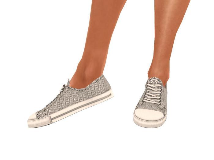 Ladies Herringbone Sneakers (mesh)