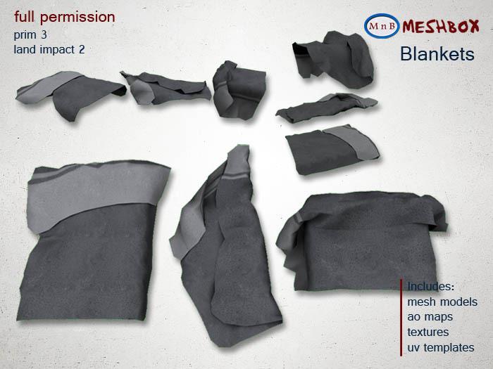*M n B* Blankets (meshbox)