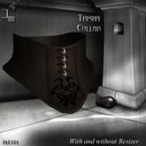 DE Designs - Trisha - Collar - Old Leather