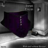 DE Designs - Trisha - Collar - Purple