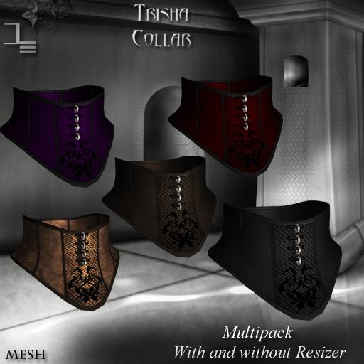 DE Designs - Trisha - Collar - Multipack