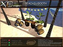 Beach Dj booth