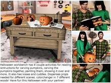 Heart Homes  Furniture: Halloween Couple Workbench