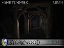 Stormwood: Mesh Mine Tunnels Kit - Copy / Modify