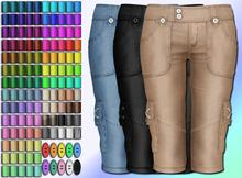 Tiny Denim Shorts