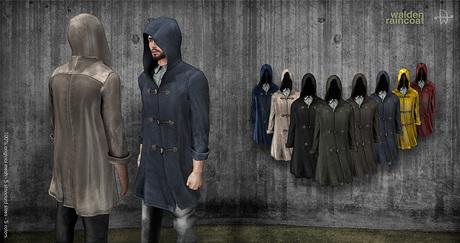 [Deadwool] Walden Raincoat - taupe