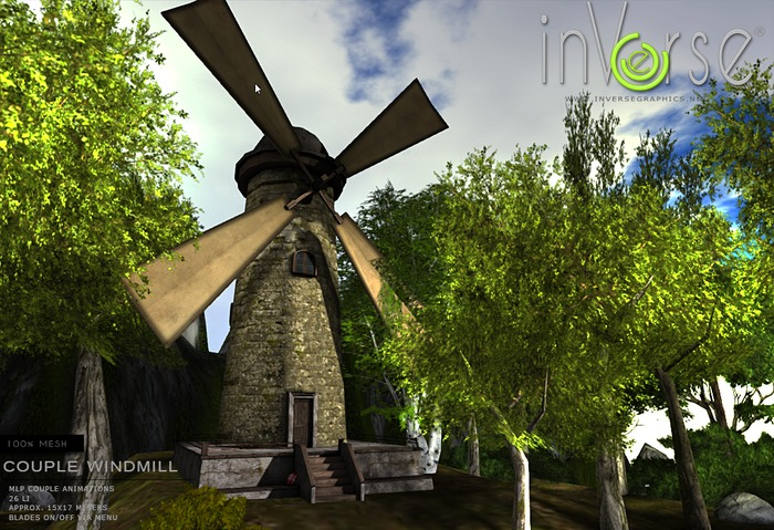 inVerse® - Windmill multianimated *mesh*