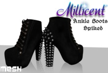 .:*Millicent*:. Ankle Boots Spiked **Almost Free Limited time**