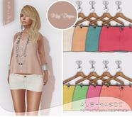 AUSHKA&CO-Mini Skirt Tessy-Lights-All with HUD