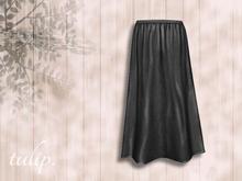 tulip. Twilight Maxi Skirt (Coal - MESH)