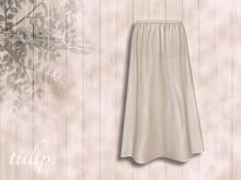 tulip. Twilight Maxi Skirt (Cream - MESH)