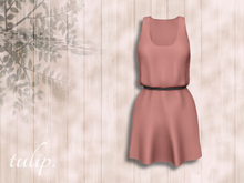 tulip. Banded Dress (Dusty Rose - MESH)