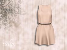 tulip. Banded Dress (Light Salmon - MESH)