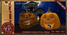 ALESTA << PROMO Mesh Pumpkin Head Full Perm