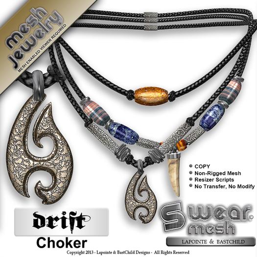 L&B - Necklace - Drift Choker