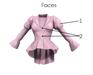 Steampunk peplum jacket 3