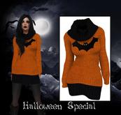 Lumiere Sweater Dress Halloween