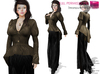 %50WINTERSALE Full Perm Rigged Mesh Steampunk Peplum Jacket