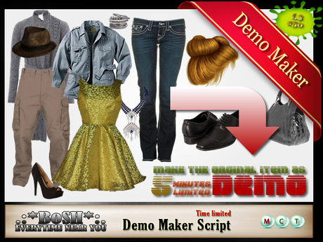 .:*BoSH*:. [5 minutes] Demo maker