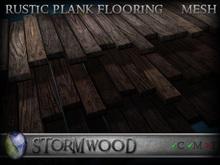 Stormwood: Rustic Mesh Floor Planks - FATPACK