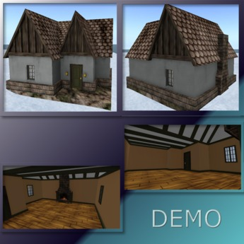 Tiny Cottage. Mesh. Demo