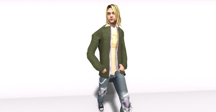 Full Mesh Kurt Cobain