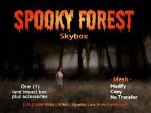 Halloween  - Spooky Forest Skybox