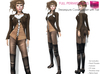 %50WINTERSALE Full Perm Rigged Mesh Steampunk Corset Jacket with Tail