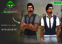 F.A.D. // Jiddo Loose Shirt // Tie + HUD